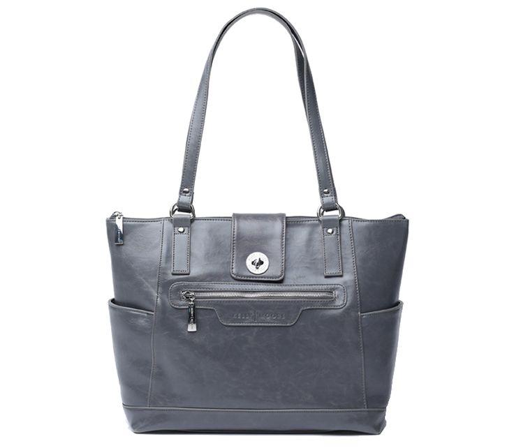 Kelly Moore Esther Grey | Modische Kelly Moore DSLR Kameratasche - Spiegelreflex Fototaschen, Laptop Tasche für Frauen | bei PhotoQueen