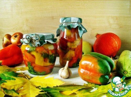 Перец в медовом соусе - кулинарный рецепт