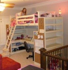 Child 39 s bunk bed modern kids atlanta true for Rooms to go kids atlanta
