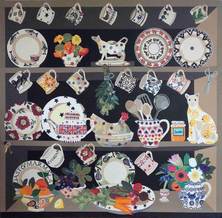 Pat Albeck...Kitchen Dresser for Emma Bridgewater