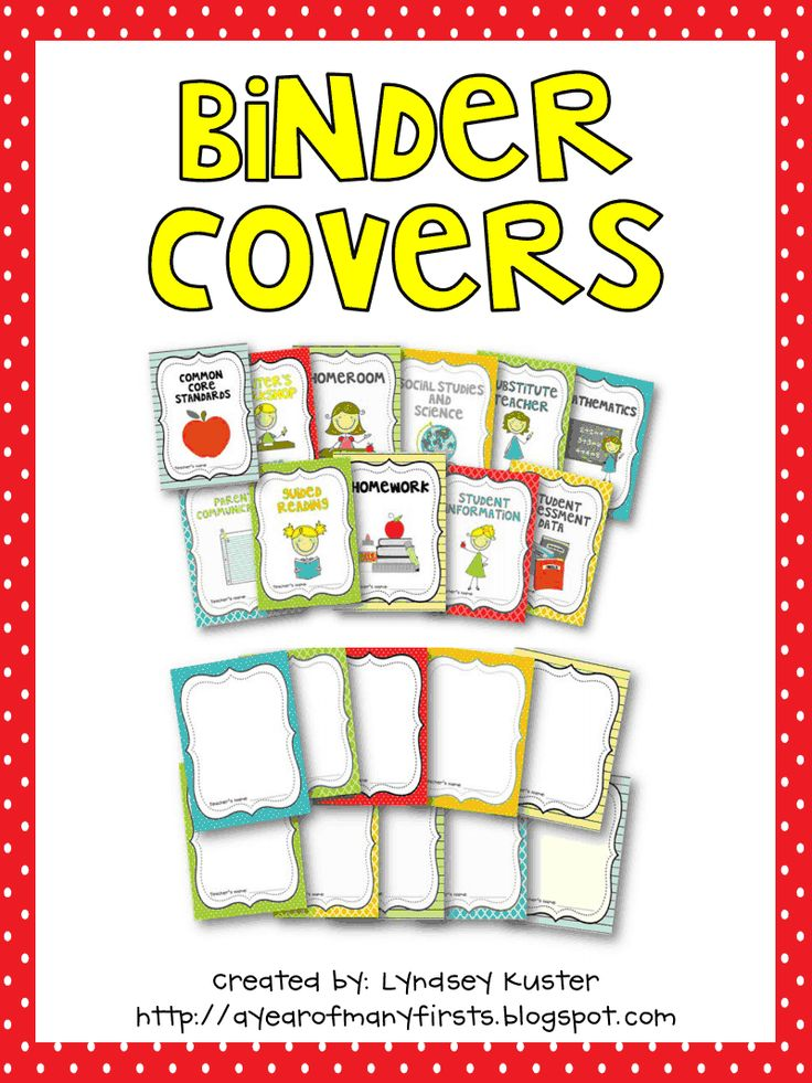 BinderCoversPDF.pdf Google Disque Binder covers, Early