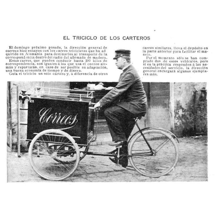 El triciclo de los carteros 1899  #1899 #BuenosAires #Argentina #motorcycle #motorcycles #bike #TagsForLikes.com #ride #rideout #bike #biker #bikergang #helmet #cycle #bikelife #streetbike #cc #instabike #instagood #instamotor #motorbike #photooftheday #instamotorcycle #instamoto #instamotogallery #supermoto #cruisin #cruising #bikestagram