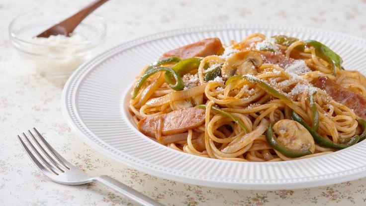 Spaghetti Napolitan | Ayo Masak Makanan Jepang! | NHK WORLD RADIO JEPANG