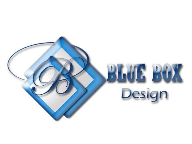 Blue Box Design Est 2009 Our First Logo