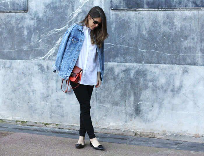 The Denim Jacket: Laetitia, shot in Bilbao for Laetitia's Comptoir