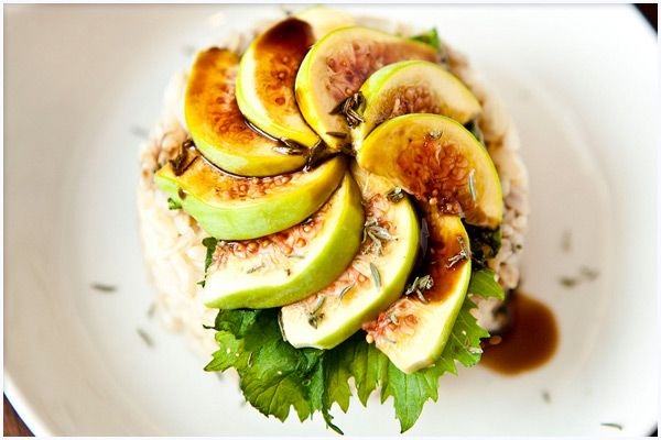 Finally A Rice Cake You Might Just Like, The Brown Rice Cake with Calimyrna Figs By GreenChef Julia Gartland