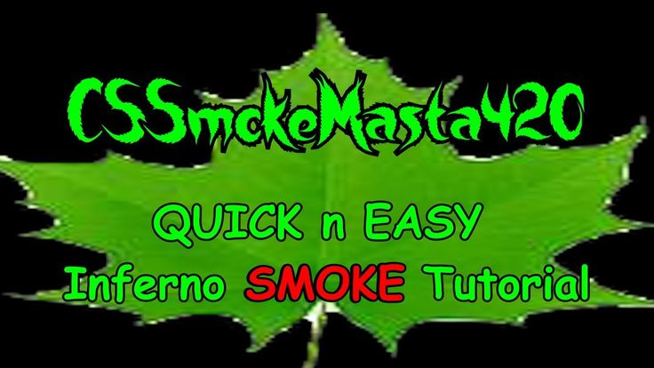 Using the smoke I learned from RandomRambo. THANKS REDDIT!