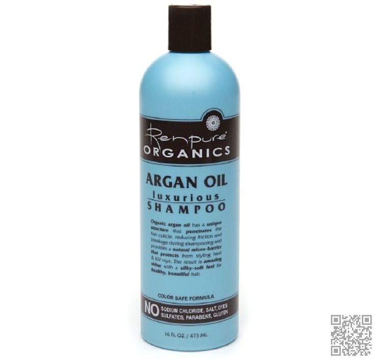 4. #Renpure Organics #Argan Oil Luxurious #Shampoo - 7 Best Bargain #Shampoos without Sulfates That Are #Fantastic for Your Hair ... → Hair #Sodium