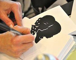 Houston Silhouette Artist Cindi Harwood Rose