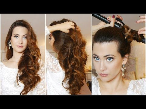 Como Rizar el Cabello en 5 minutos! ♥ How to Curl Your Hair in 5 Minutes! - YouTube