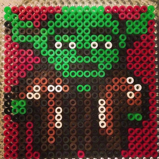 Star Wars Yoda perler beads by vanteman
