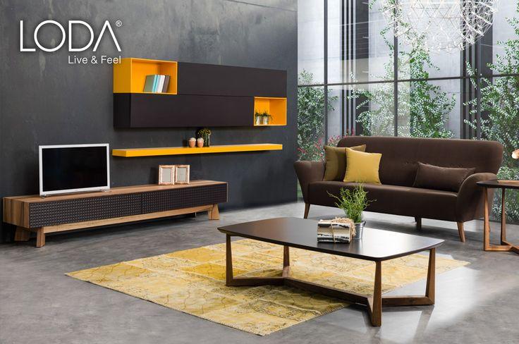 Siena TV Ünitesi ve Duke Kanepe / Siena TV Unit / Duke Sofa / #mobilya #furniture #tasarım #dekorasyon #stil #style #design #decoration #home #homestyle #homedesign #loft #loftstyle #homesweethome #diningroom #livingroom #oturmaodası #tvünitesi #ahsapmobilya #lodamobilya