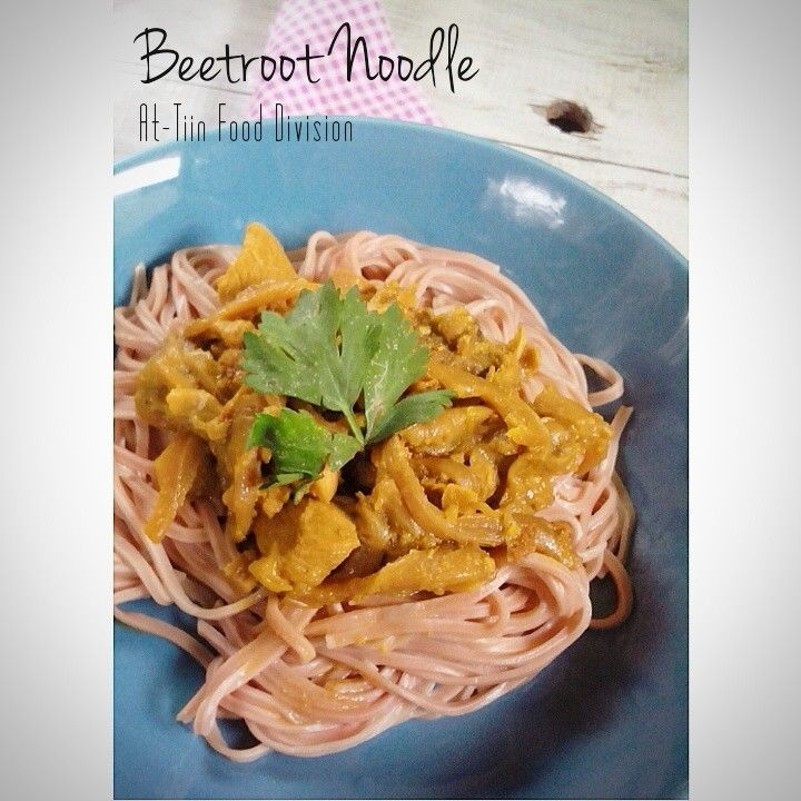 Beetroot noodle