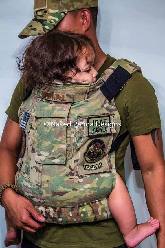 Prototype of naked panda design 39 s multicam baby carrier for Daddy carrier