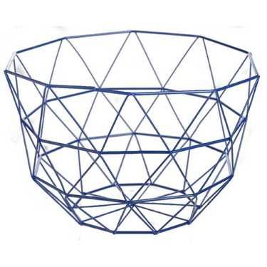 Ombre Home Blue Water Wire Basket Ink 30 x 30 cm