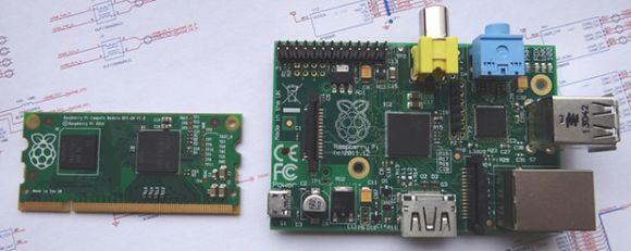 The Raspberry Pi Compute Module