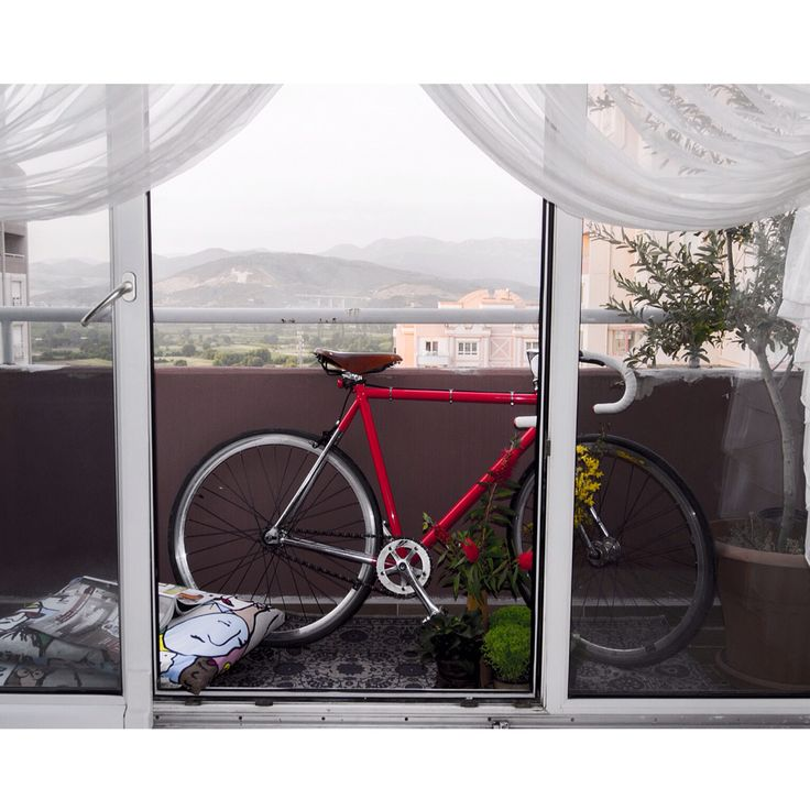 Bike at balcony
