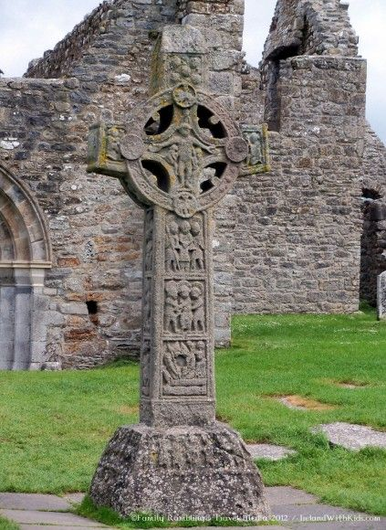 High Cross at Clonmacnoise, County Offaly