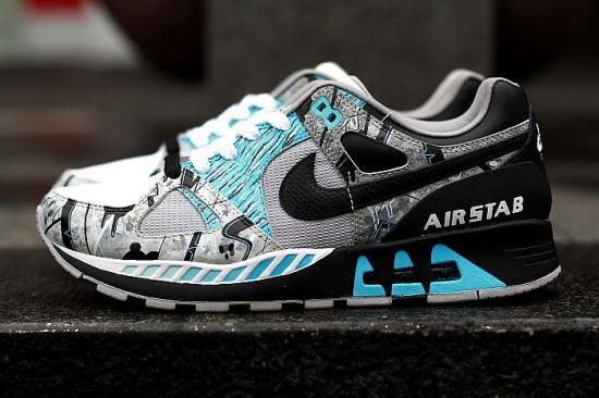 Nike Air Stab Premium – Concrete Cobalt (Sekure D x UHF)