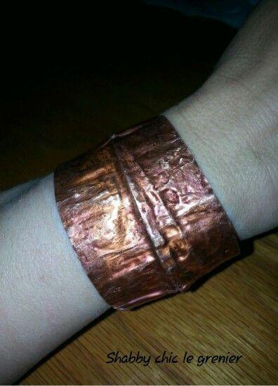 Handmade copper bracelet. Bracciale in rame, realizzato a mano. https://m.facebook.com/profile.php?id=675772772446917
