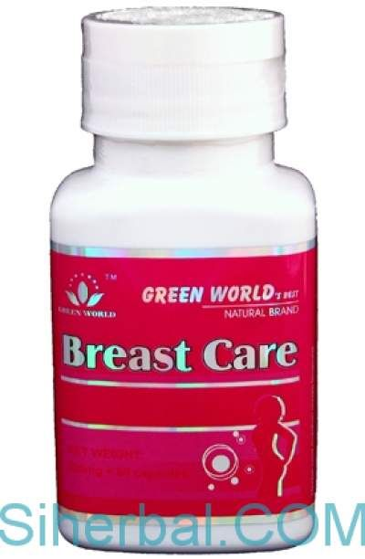 Breast care capsule green world