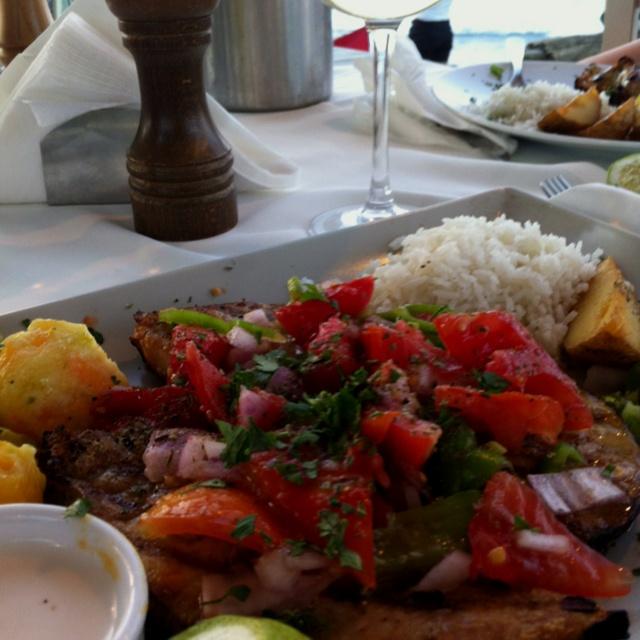 Swordfish & retsina