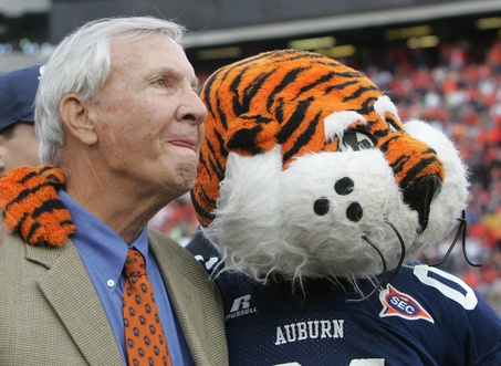 #Aubie with Coach #PatDye #WarEagle   For Great Sports Stories, Funny Audio Podcasts, and Football Rules Tutorial www.RollTideWarEagle.com