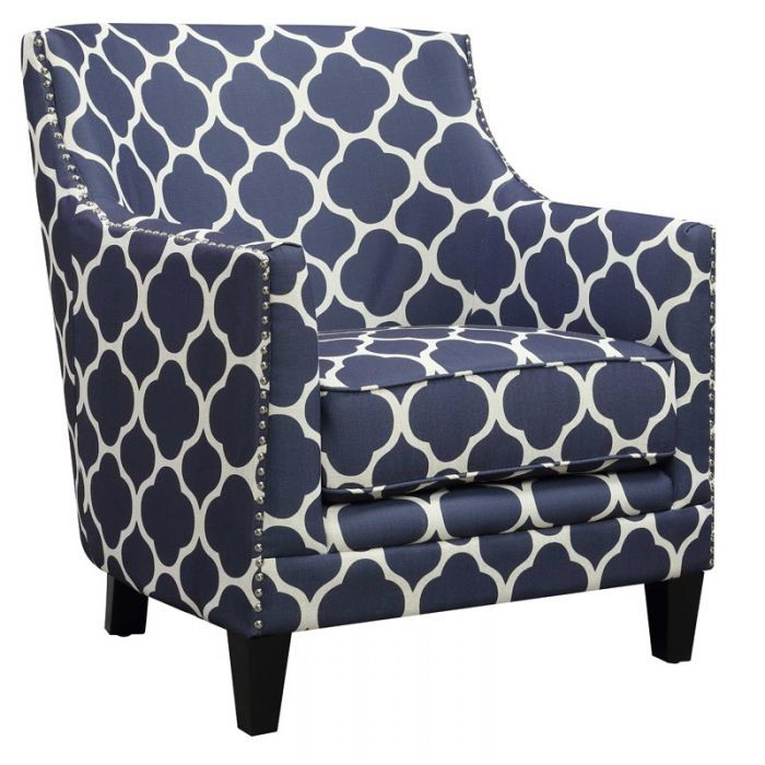 Dinah Blue Accent Chair Blue Accent Chairs Accent Chairs