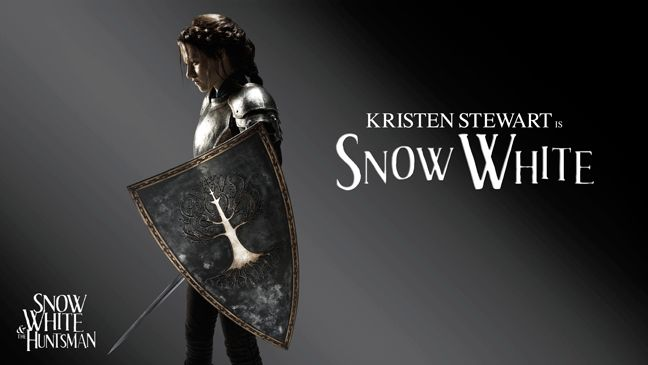 Universal's version of the famous fairytale, set for release on June 1, sees Kristen Stewart as Snow White, who must defend herself from the Evil Queen (Charlize Theron) who has enlisted a Huntsman (Chris Hemsworth) to track her down and kill her.