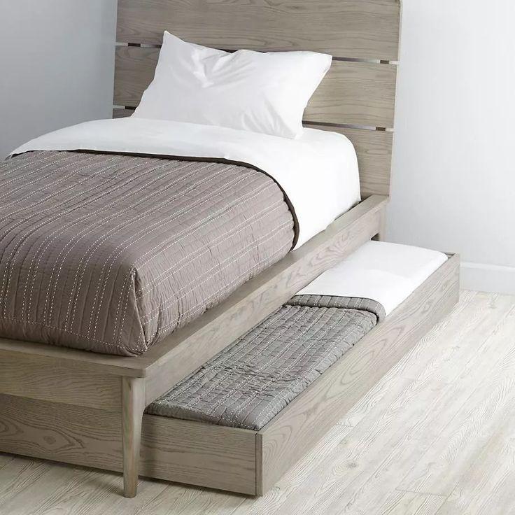 M s de 25 ideas incre bles sobre cajones bajo cama en for Cama individual con cajones