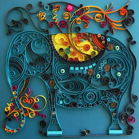 Very interesting. Rivka Guedj: Quilling From shirelbatel.blogspot.in