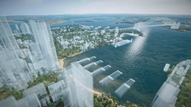 Image result for Sydney cove from the water