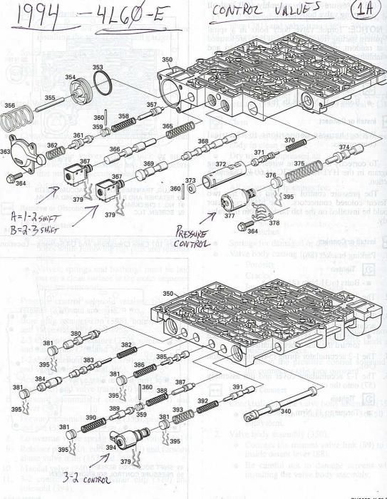 automotive Schaltplang 1994 chevrolet 4x4