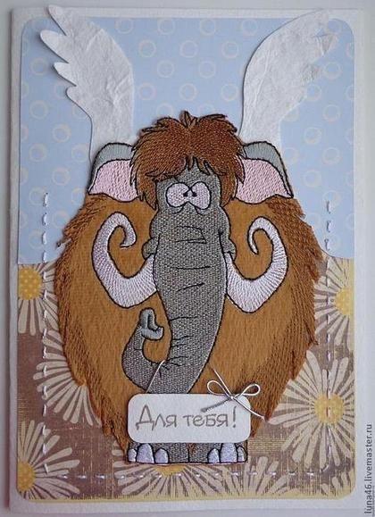 Детские открытки на день рождения - Открытка ручной работы,универсальный подарок