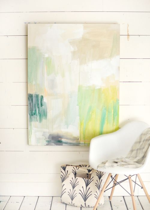 favorite abstract example for upstairs living room