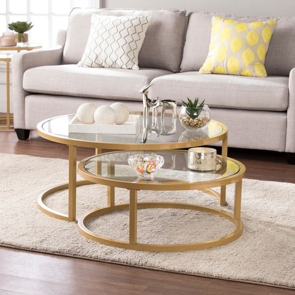 Overstock Com Online Shopping Bedding Furniture Electronics Jewelry Clothing More Nesting Cocktail Table Living Room Coffee Table Nesting Coffee Tables #nesting #table #living #room