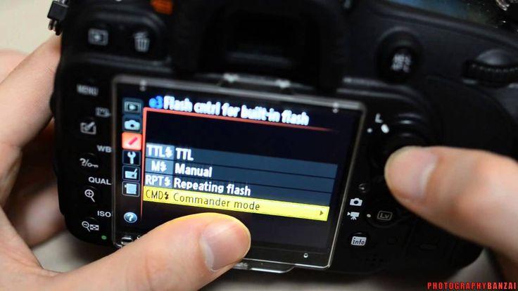 Nikon SB-800 CLS Remote Flash Settings