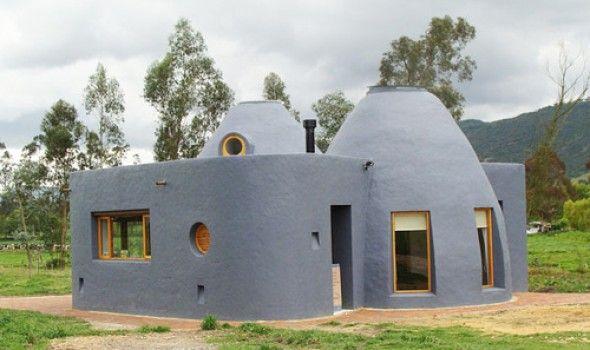 63 mejores im genes de construcci n sostenible en - Construccion de casas ecologicas ...