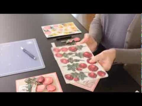 Video Tutorial -- Anna Griffin's How To Make A Flower Pot Decoupage Card - YouTube