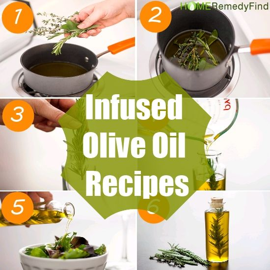 DIY Infused Olive Oil Recipes