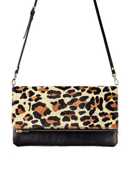 Status Anxiety - Gwyneth Bag - Leopard $129.00