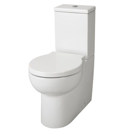 Premier - Holstein Flush To Wall Pan & Cistern and Soft Close Seat
