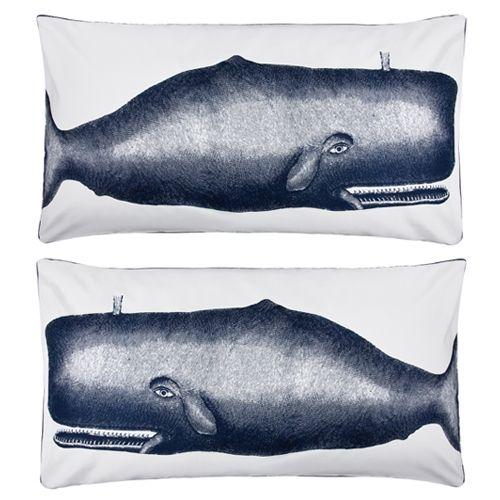 Whale pillows.