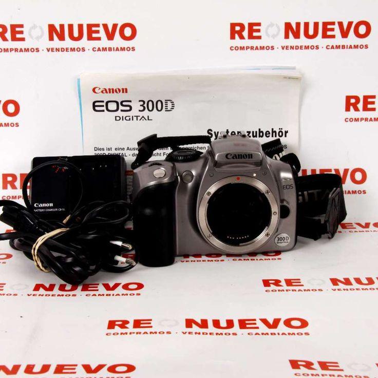 Cámara CANON EOS 300D DS6041 E268264 de segunda mano # Cámaradigital# de segunda mano # Canon.