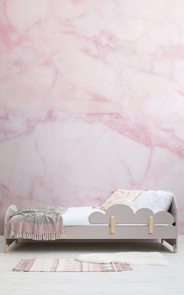 Pink Marble Effect Wallpaper Mural Murals Wallpaper Pink Marble Wallpaper Pink Wallpaper Bedroom Wallpaper Bedroom