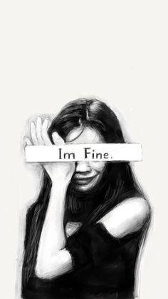 Niciodată să nu minți pe nimeni ca esti bine, deoarece aceasta situației  poate distruge o relație bună. 😔