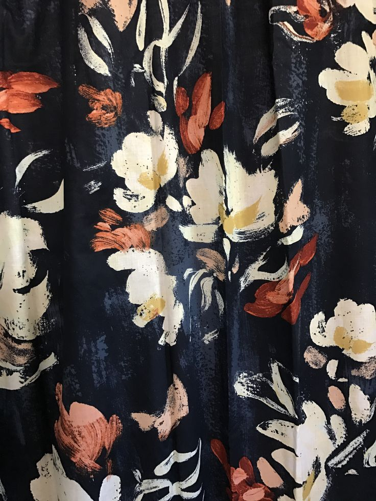 Floral shower curtain at Target!