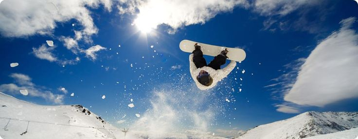 Snow Boarding. Royalty Free photos