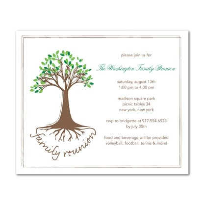 Free Printable Family Reunion Invitation Templates Purplemoon