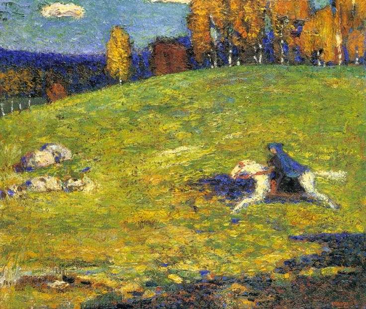 EL jinete azul - Vasily Kandinsky